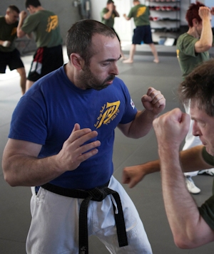 Israeli Krav Maga Instructor Course In Boston - Gershon Ben Keren